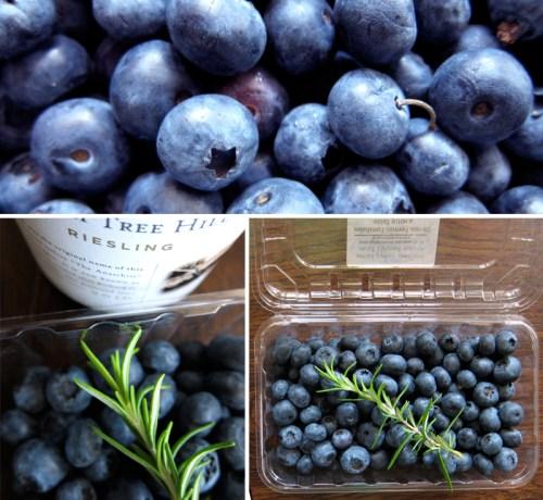 fresh bc blueberries