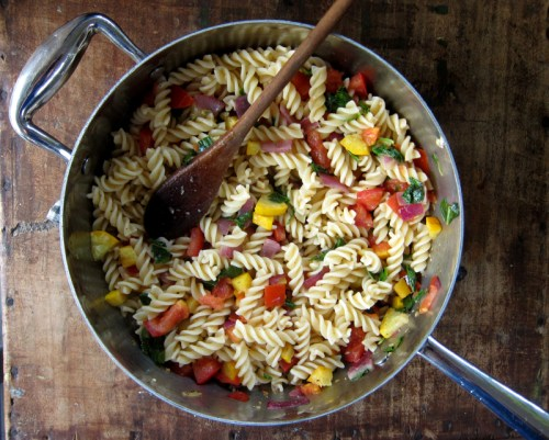 simple summer pasta | everybody likes sandwiches