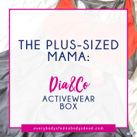 The Plus-Sized Mama: Dia&Co Activewear Box