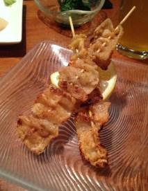 Chicken Skin Teppanyaki - Hana Zen