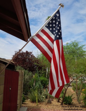 © US Flag by Beth Terry