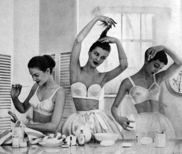 Black Vintage Fashion Tumblr With 1951 Vogue Us