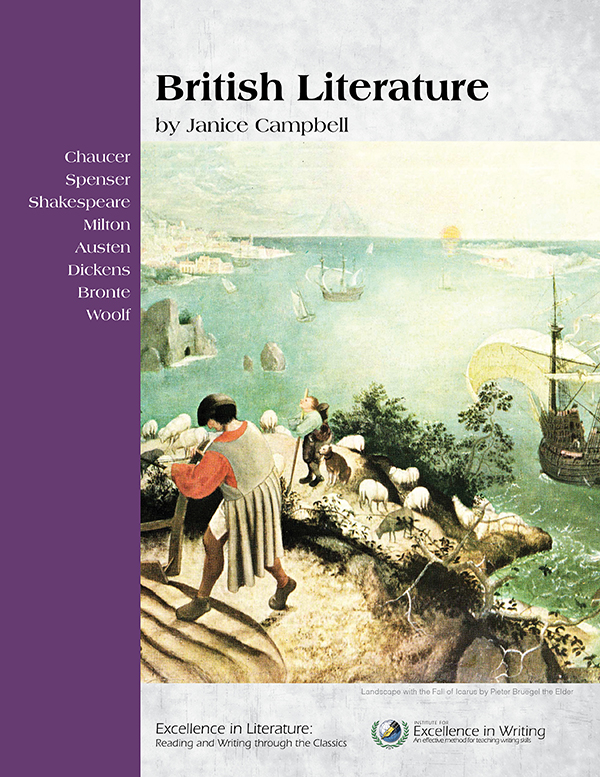 British Literature: English 4 level of Excellence in Literature