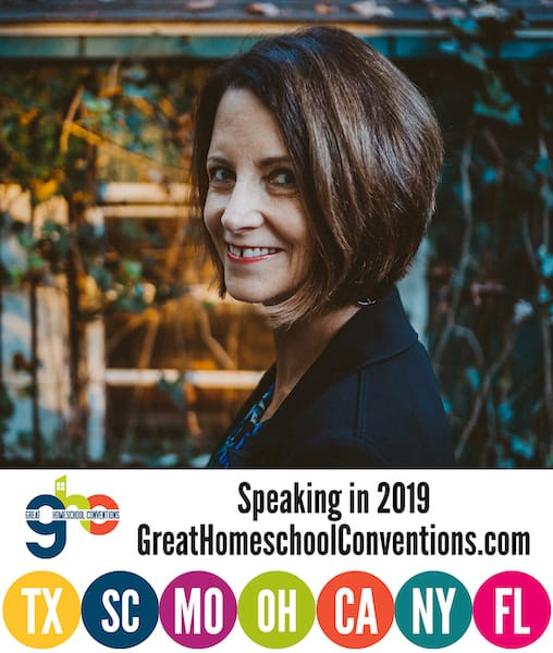 Janice Campbell will be at Great Homeschool Conventions in 2019!