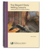 The Elegant Essay Teacher's Manual will help you teach writing to middle and high school students.