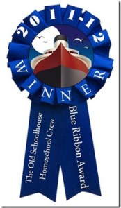 Excellence in Literature won the Blue Ribbon Award from The Old Schoolhouse.