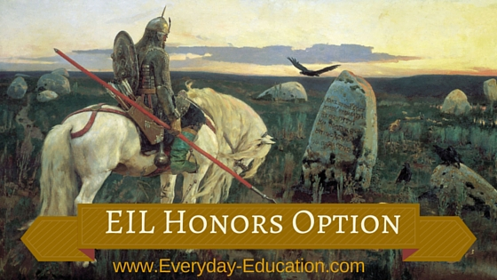 Excellence in Literature (EIL) Honors Option