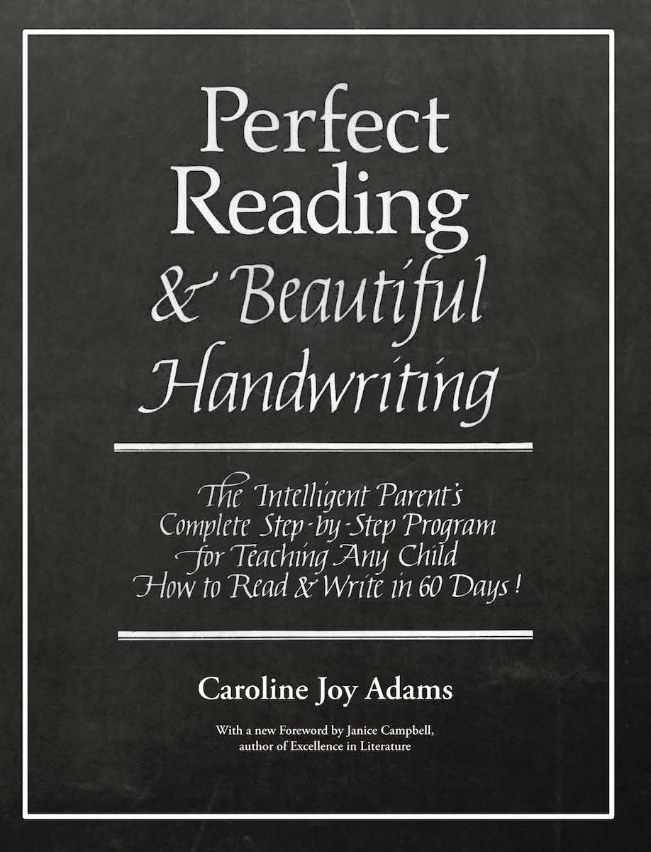 Perfect reading beautiful handwriting bundle print and ebook perfect reading beautiful handwriting by caroline joy adams fandeluxe Image collections