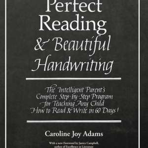 Perfect reading beautiful handwriting bundle print and ebook perfect reading beautiful handwriting ebook fandeluxe Choice Image