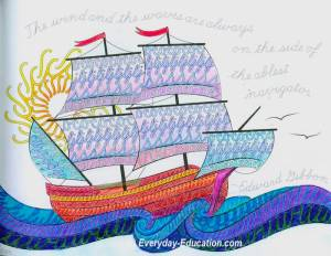 Color your way to beautiful penmanship with CursiveLogic and The Art of Cursive.