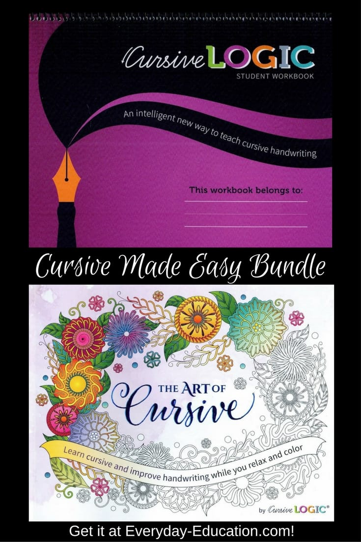 Cursive made easy bundle everyday education cursive made easy bundle includes cursivelogic and the art of cursive so your student can learn fandeluxe Gallery