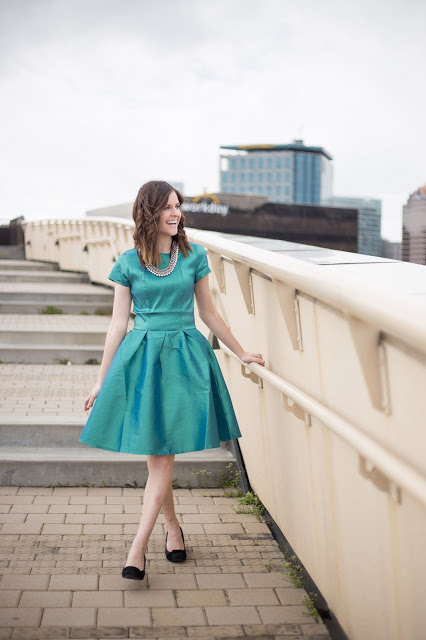 Party Dresses, Skylines, and a Giveaway…Oh My!