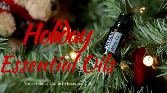 Holiday essential Oils white fir