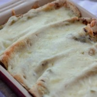 Dinner is Served: Creamy Green Chile Enchiladas