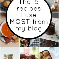 My 15 most-used recipes on Everyday Reading