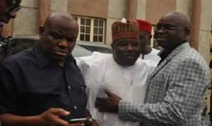 In PDP, the boiling continues: I will send Wike, Fayose packing; we will leave him with only court papers