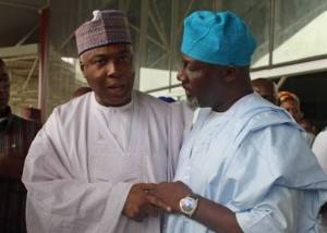 Senate begins investigating Saraki, Melaye on Ndume's request