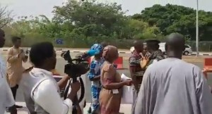 Parents, siblings of abducted Chibok girls on way to Aso Villa.