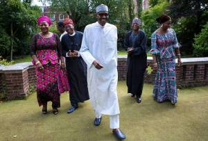 Breaking…. Buhari arrives; Dogara assures of House support