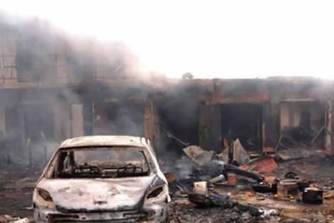 Many Feared Dead, Secretariat, Houses Razed As Boko Haram Recaptures Borno Areas