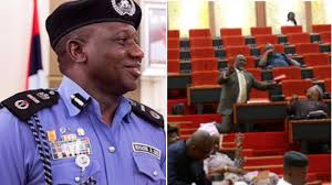 Kogi Police boss fired as Melaye drama plot thickens; declared wanted while in Senate Chamber