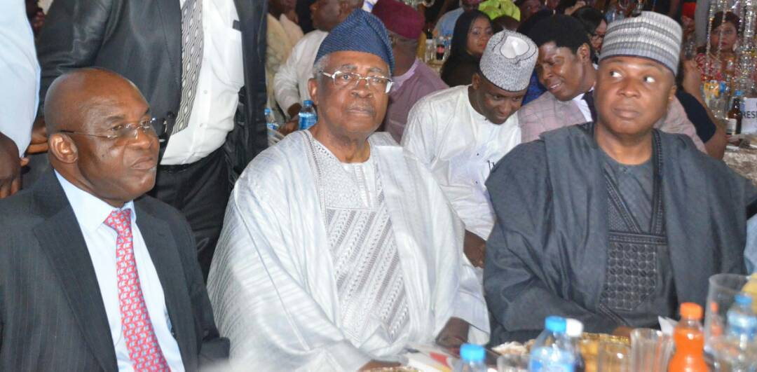 David Mark at 70 renews pact with God; as Danjuma, Saraki, Tambuwal, others shower encomium