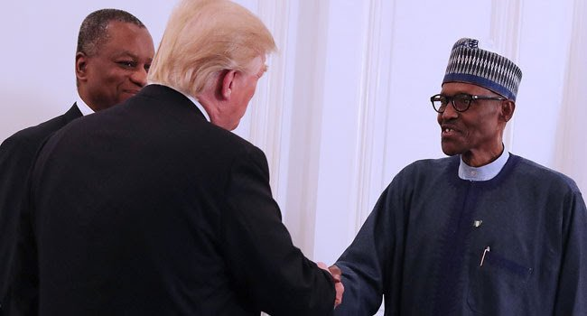Please, come to the US, Trump invites Buhari
