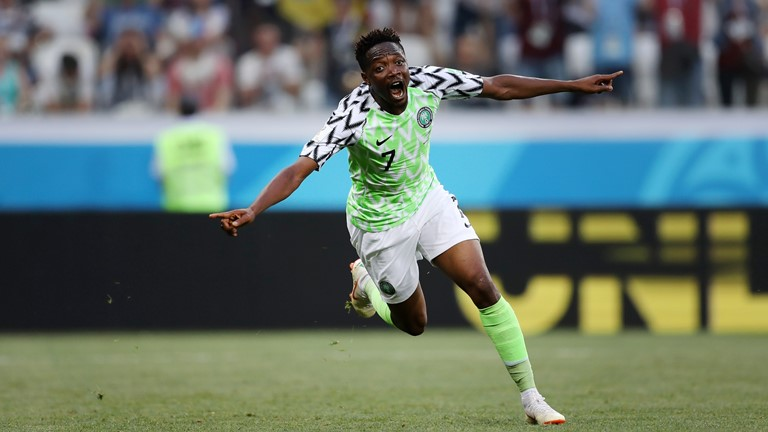 Nigeria still in World Cup, as Ahmed Musa beats Iceland by two goals to nil