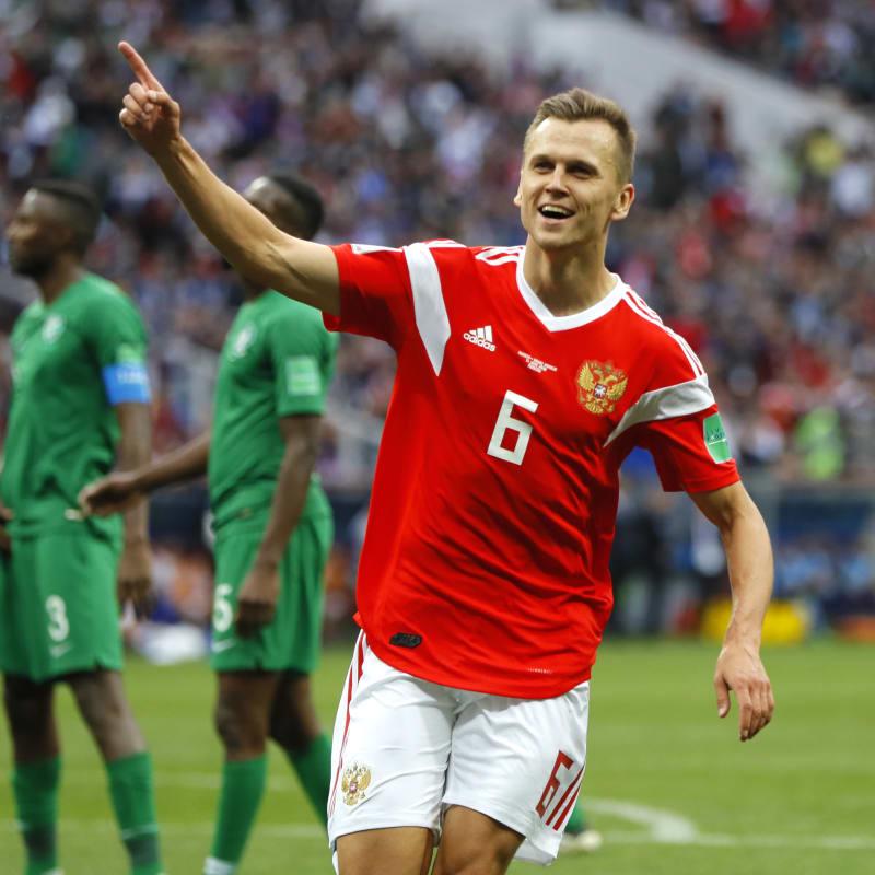 Host, Russia, trounce Saudi Arabia 5 – 0 in opening match