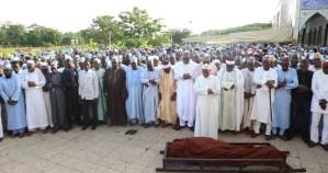 Adamu Ciroma dead, buried; Buhari, NASS leaders, Dickson eulogise him