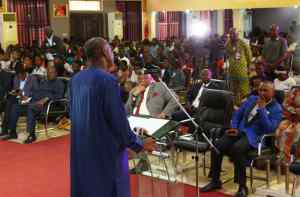 Sermon to youths on Redeem Mount by Dogara, as he calls for overhauling curriculum