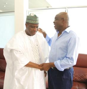 Tambuwal pledges to take Nigeria on the path of development; Mark says he is the needed bridge