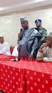 A vote for me is a vote for re-unification of Nigeria, Tambuwal tells FCT PDP delegates
