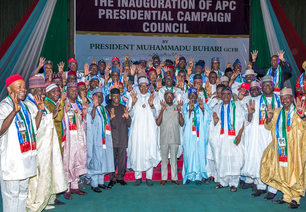 No govt money for campaigns, says Buhari
