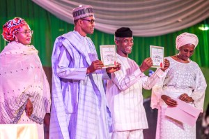 Buhari gets Certificate of Return