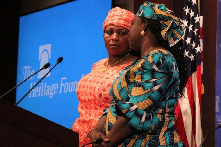 Rebecca, Leah Sharibu's mother, seeks Trump's intervention to get daughter freed