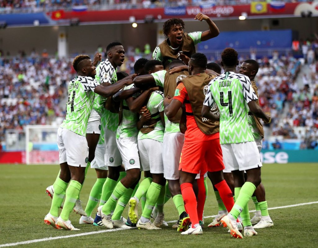 Nigeria ends South Africa's dream ride at AFCON in Egypt; Buhari praises team