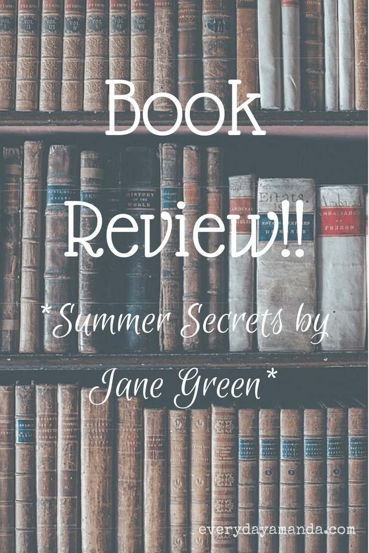Book Review. Summer Secrets by Jane Green.