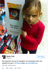 "Insights from a Target Troll (and what ""Gender-Neutral"" really means)"