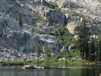 rock island on grant lake