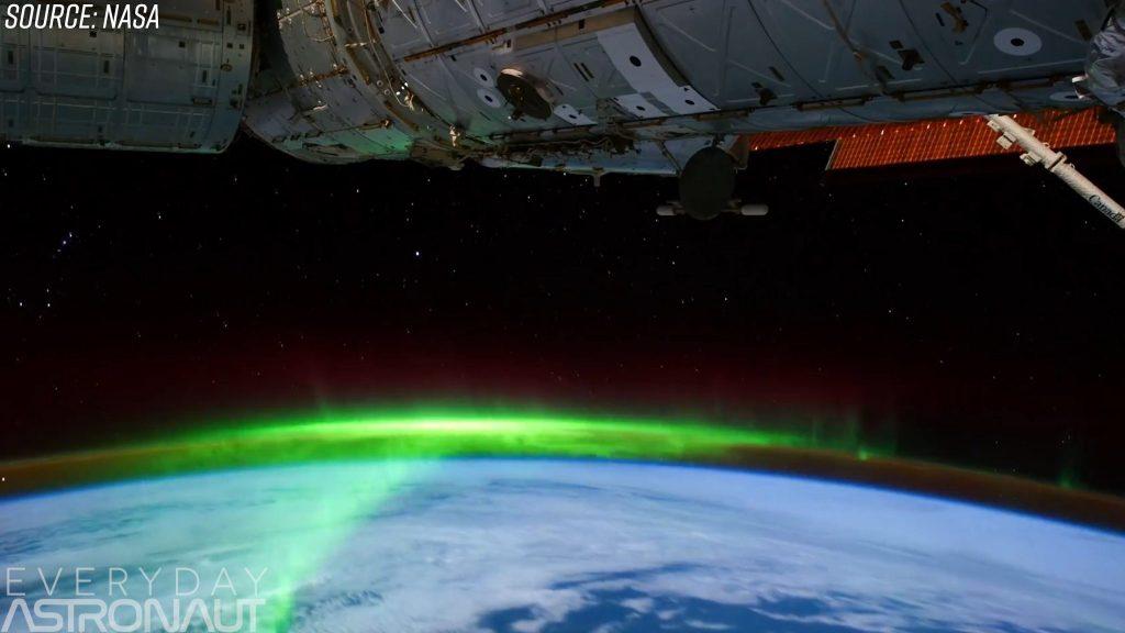 ISS aurora orbit