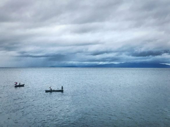 Central America Photography View from the ferry to Ometepe, Nicaragua