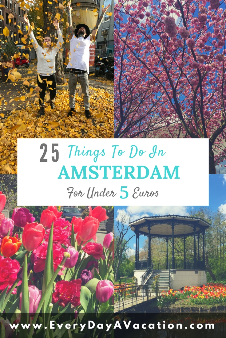 25 Things To Do In Amsterdam Under 5 Euros