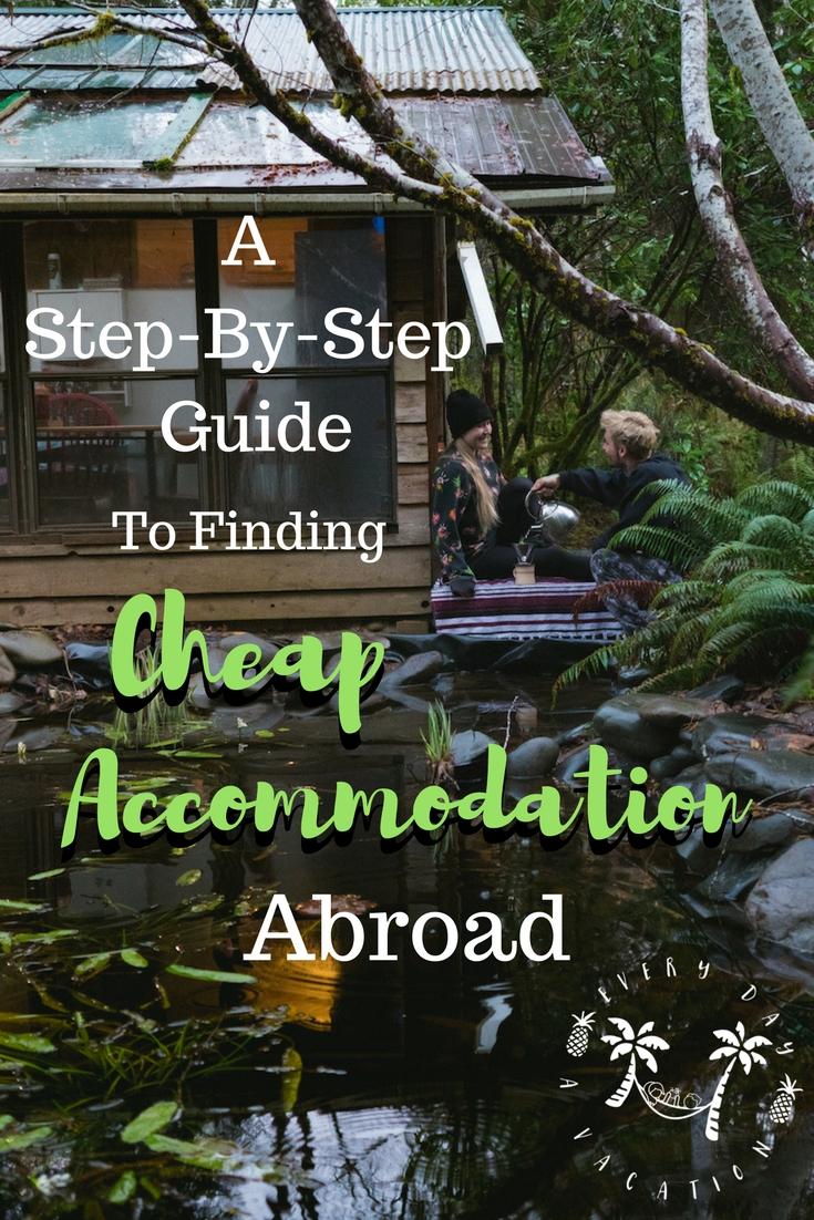 Finding Cheap Accommodation Abroad