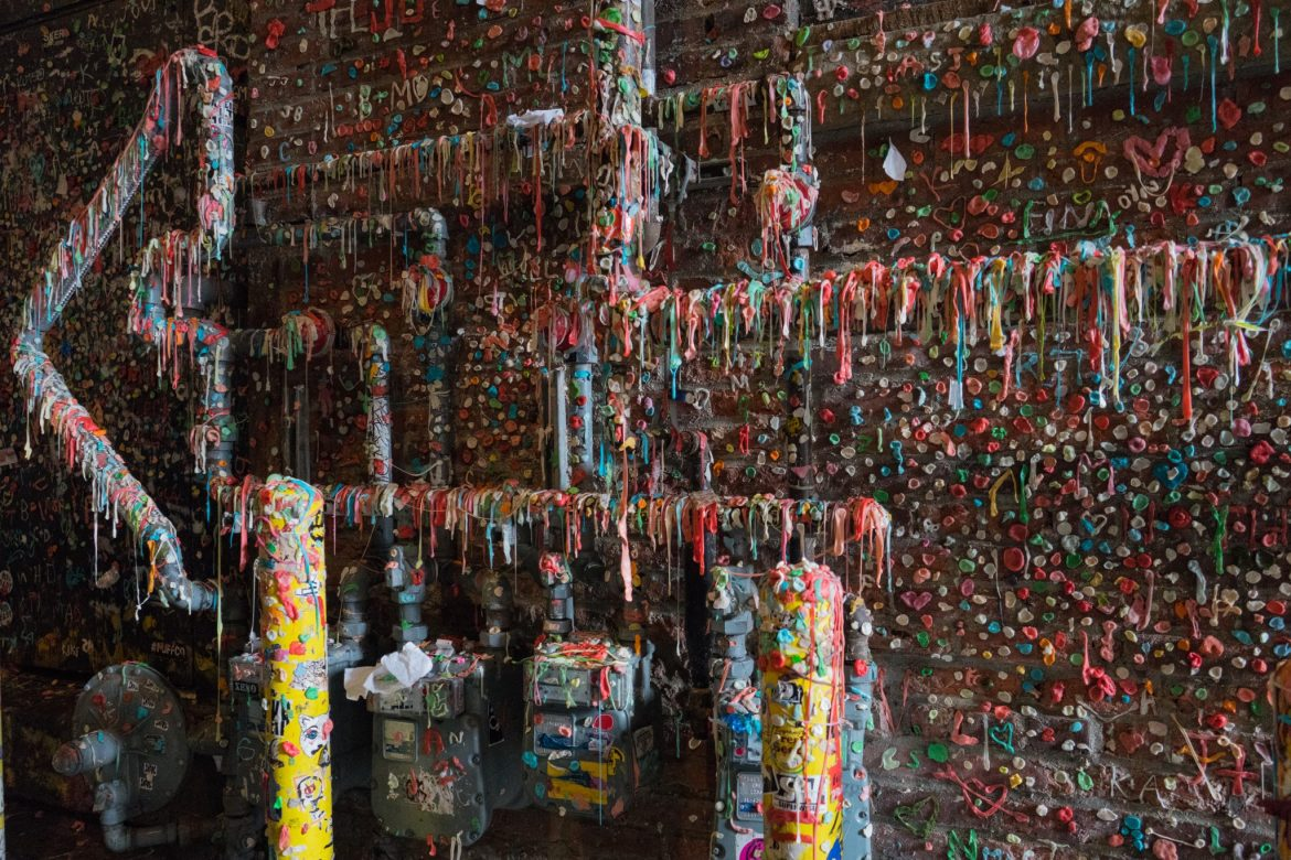 Seattle Post Alley Gum Wall