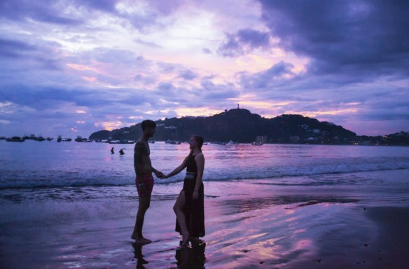 Central America Photography Sunset at San Juan del Sur, Nicaragua