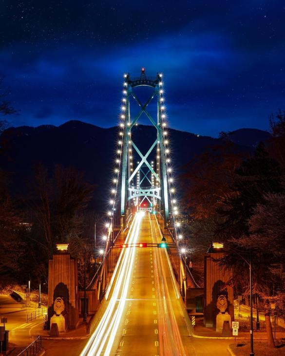 Lion's Gate Bridge, Vancouver, Canada Photography