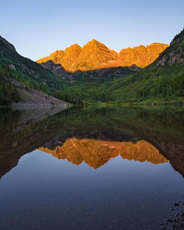 USA Photography, landscape photography The Maroon Bells: How To Avoid The Crowds At America's Most Photographed Mountains