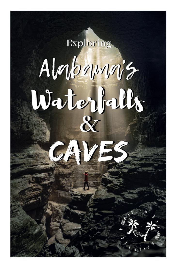 Exploring Alabama's Waterfalls and Caves