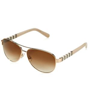 Kate Spade Gold Sunglasses